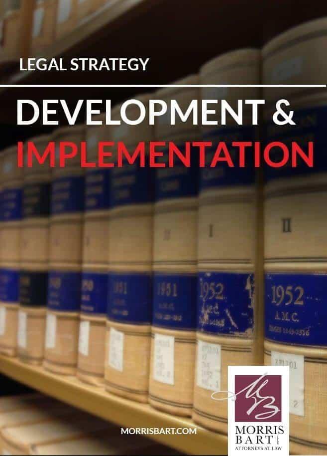 Legal Strategy Development & Implementation