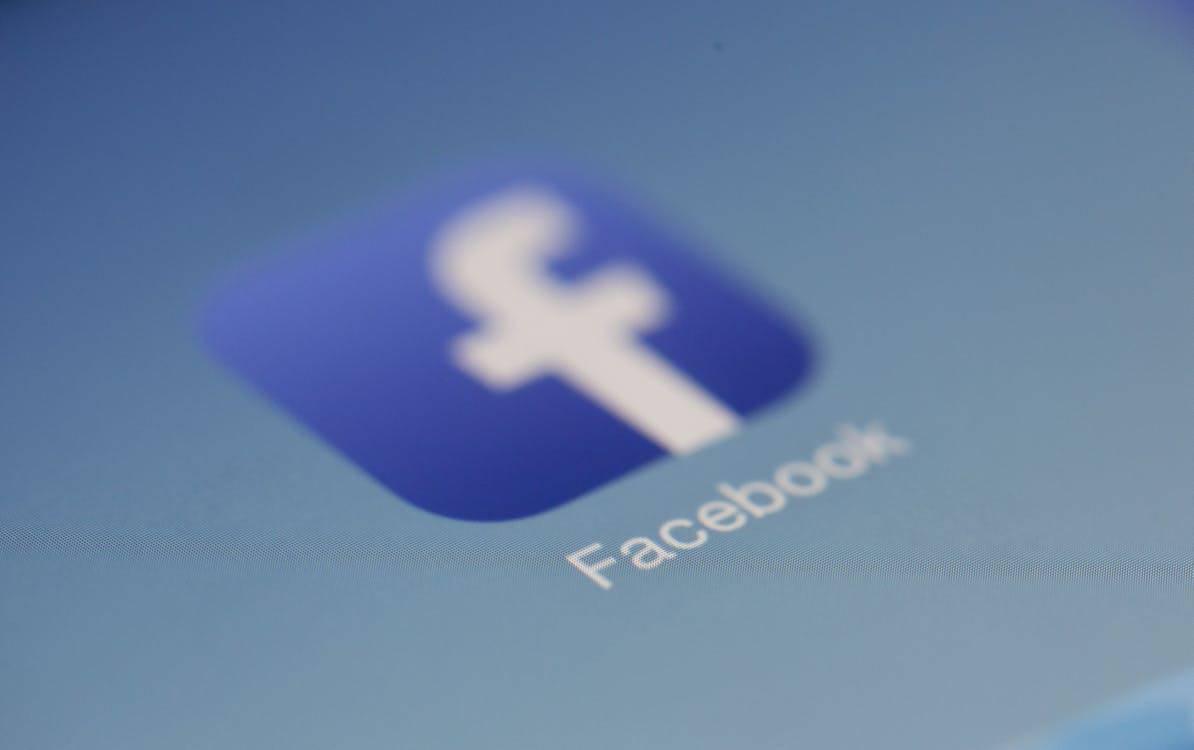 Screenshot of the Facebook app on a smart phone