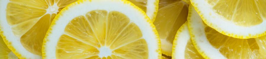 overlap of lemon slices