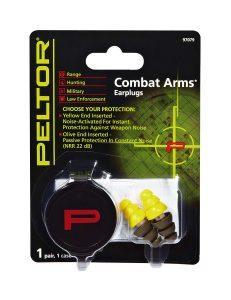 peltor 3m combat arms earplugs in packaging