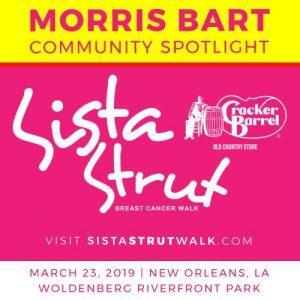 morris bart community spotlight sista strut 2019 new orleans