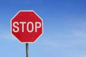 4-Wheel Driver Runs Stop Sign, Crashes Into Truck
