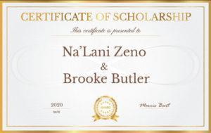 Meet Na'Lani Zeno and Brooke Butler, Recipients of the 2020 Morris Bart, LLC Community Service Scholarship