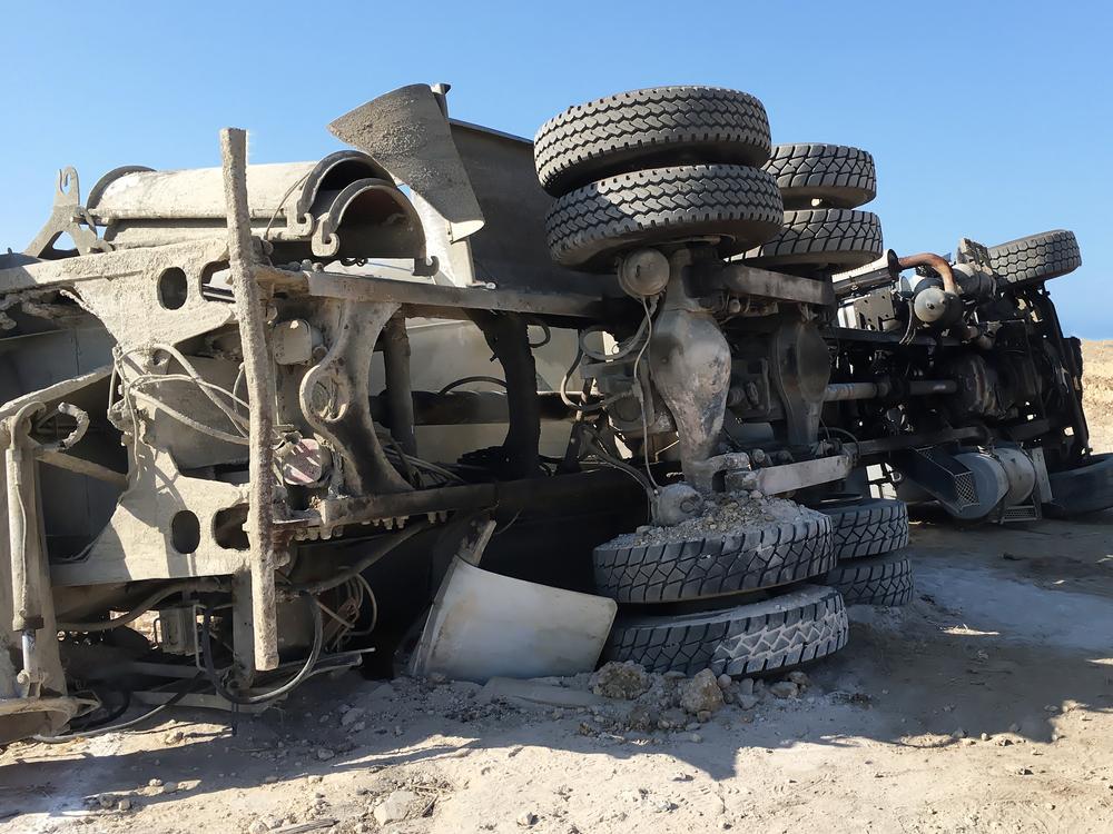 Baton Rouge Concrete Truck Lawyer