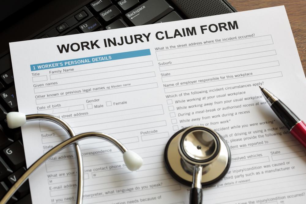 generic work injury claim form